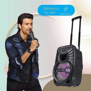 ZEBRONICS ZEB-100 Bluetooth Trolley Speaker
