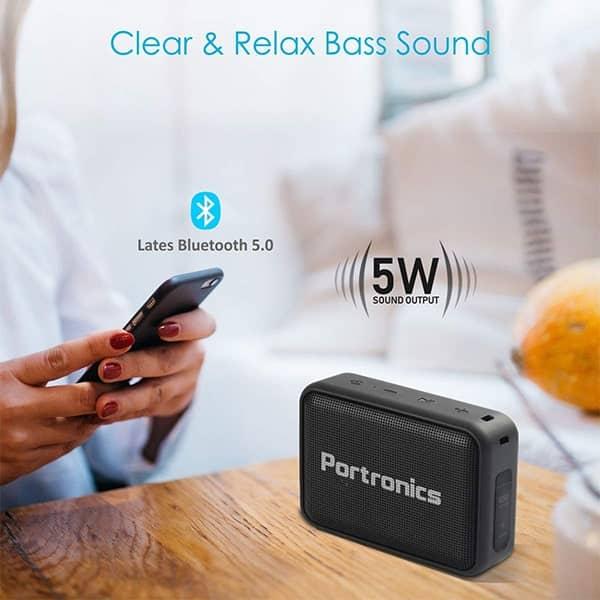Portronics POR-394 Dynamo 5 W Bluetooth Speaker