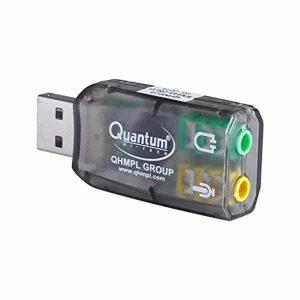 Quantum QHM 623 3D Virtual 5.1 USB Sound Card Adapter