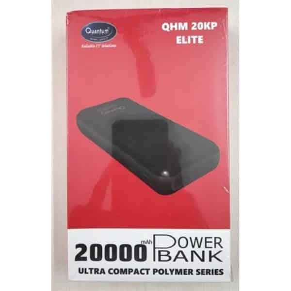 Quantum QHM20KP Elite 20000 mAh Power Bank