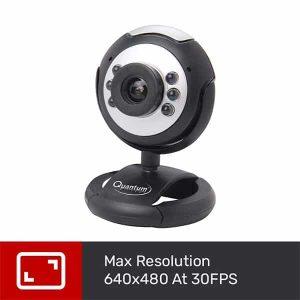 Quantum QHM495LM 6 Light Webcam For Laptop/Desktop