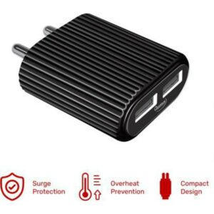Quantum QWC-24211 12 W 2.4 A Multiport Mobile Charger