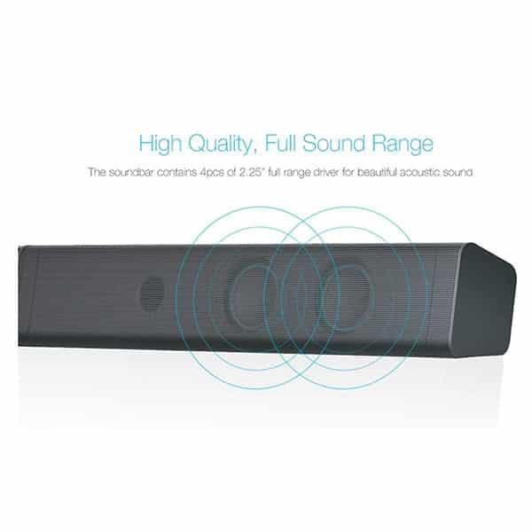 F&D T-160X 40 W Bluetooth Soundbar