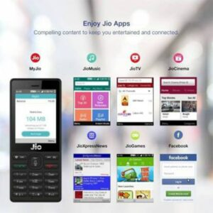 JioPhone Keypad Feature