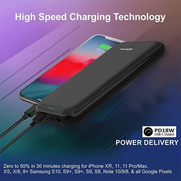 Portronics POR-1011 10000 mAh Portable Power Bank