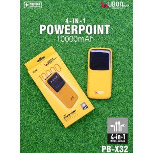 UBON PB-X32 10000 mAh Li-Polymer Power Bank
