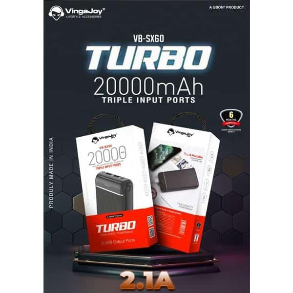 VingaJoy VB-SX60 Turbo 20000 mAh Power Banks