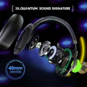 JBL Quantum 100 Wired Over-Ear Gaming Headset With Mic