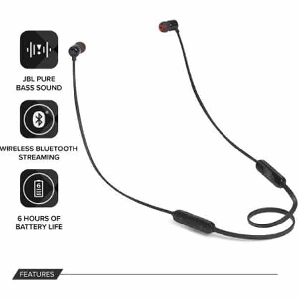 JBL T110BT Bluetooth Headset with Mic