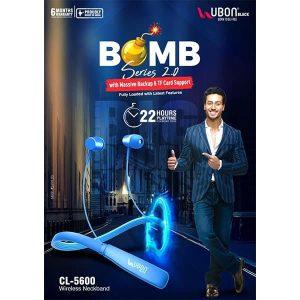 Ubon CL-5600 Bomb Series Wireless Neckband