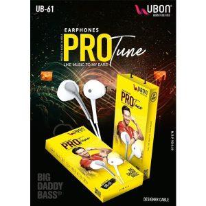 Ubon UB-61 PRO Tune Earphones