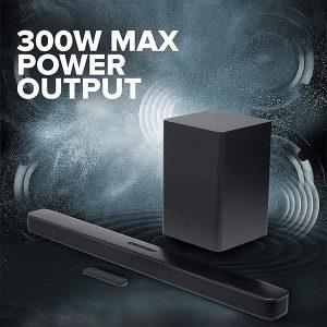 JBL Bar 2.1 Deep Bass 300W Soundbar with Wireless Subwoofer