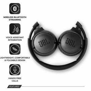 JBL Tune 500BT Wireless On-Ear Headphones with Mic