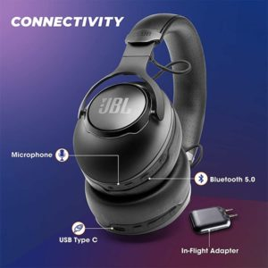 JBL Club 950NC Wireless Over-Ear Headphones with Mic