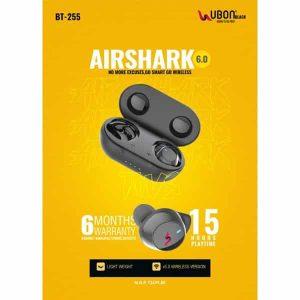 Ubon BT-255 AIRSHARK Wireless Earbuds