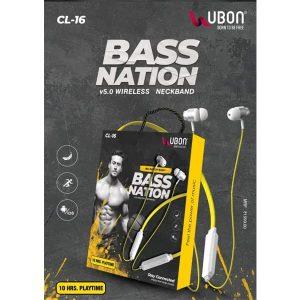 Ubon CL-16 Bass Nation Wireless Neckband