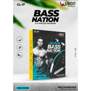 Ubon CL-17 Bass Nation Wireless Neckband