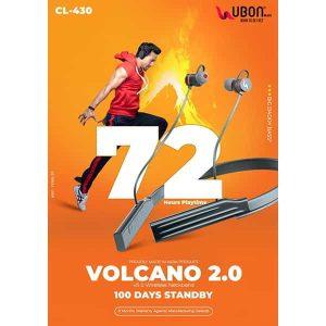 Ubon CL-430 Volcano 72 Hours Wireless Neckband