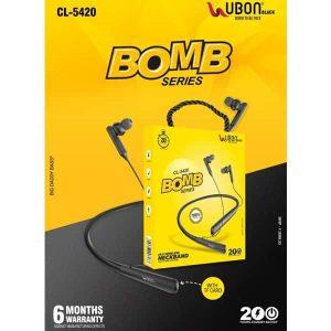 Ubon CL-5420 Bomb Series Wireless Neckband