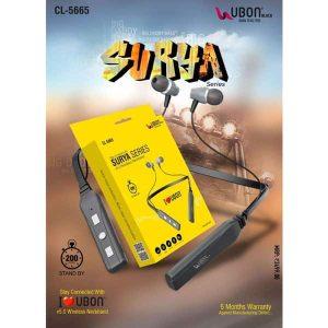Ubon CL-5665 Surya Series Wireless Neckband
