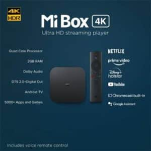 Mi Box 4K Ultra HD Smart TV Box