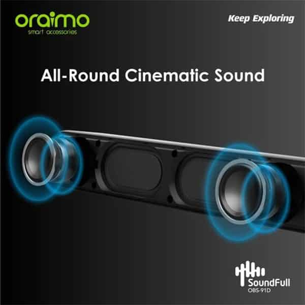 Oraimo SoundFull OBS-91D Wireless Cinematic Portable Speaker