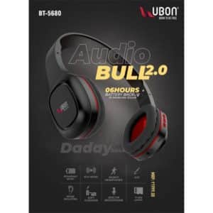 Ubon BT-5680 Audio Bull Wireless Headphones