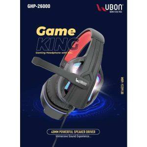 Ubon GHP-26000 Game King Gaming Headphones